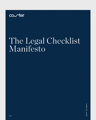 Legal Checklist Manifesto
